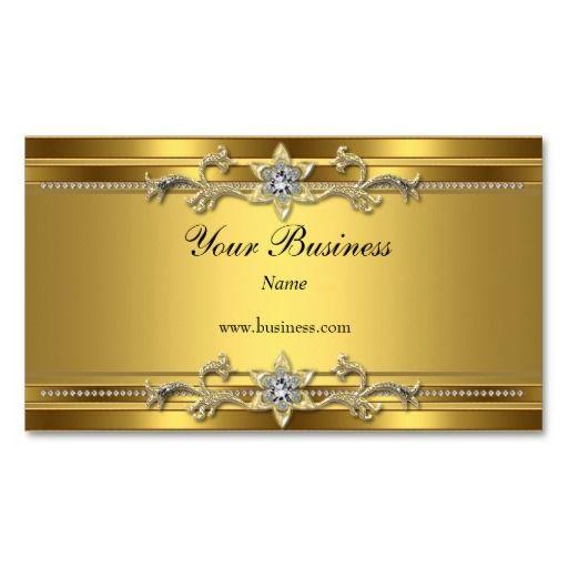 Gold On Gold Black Elegant Classy Jewel Business Card Zazzle Com Gold Business Card Printing Business Cards Business Card Design Simple