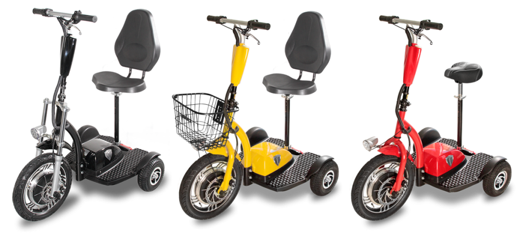 Triad Electric Vehicles Supplies The Best In Cl Most Reliable Highest Quality Three Wheeled Personal Scooter Vehicle Products Available
