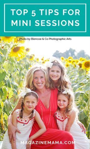 5 Must-Do's for a Successful Mini Session Event