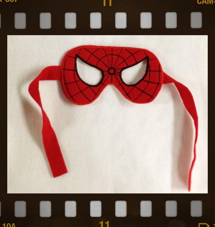 Super Hero Masks. $9.00, via Etsy.