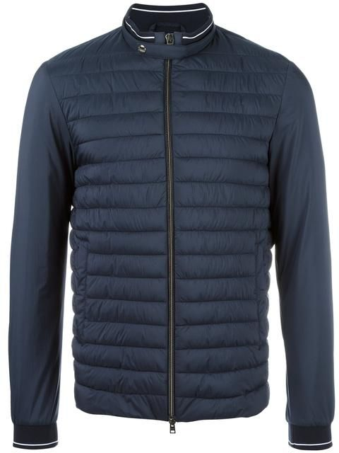 9eab06575 Shop Herno padded panel zipped jacket. | jackets | Jackets, Herno ...