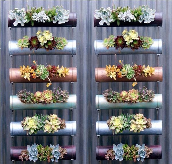 PVC pipe outdoor decoration
