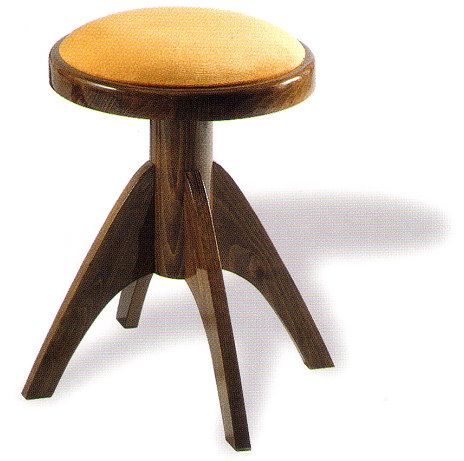 A round adjustable piano stool with 4 legs for stability and comfort this round stool  sc 1 st  Pinterest & A round adjustable piano stool with 4 legs for stability and ... islam-shia.org