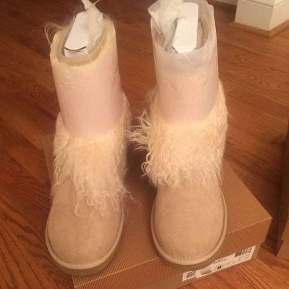 Ugg Australia Mongolian tan Sheepskin Cuff Brand new | Sold out in ...