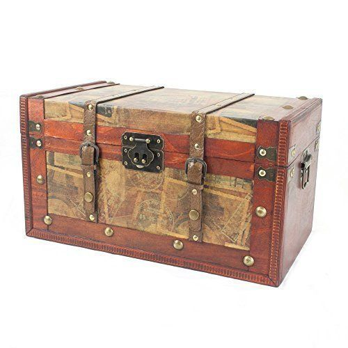 18th Wedding Anniversary Gift Ideas For Her: Decorative Storage Chest Trunk
