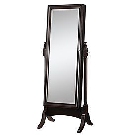 Jewelry Armoire & Cheval Standing Mirror at Big Lots ...