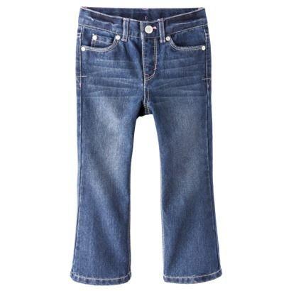 Cherokee® Infant Toddler Girls' Denim Jeans - Medium Blue in 3T