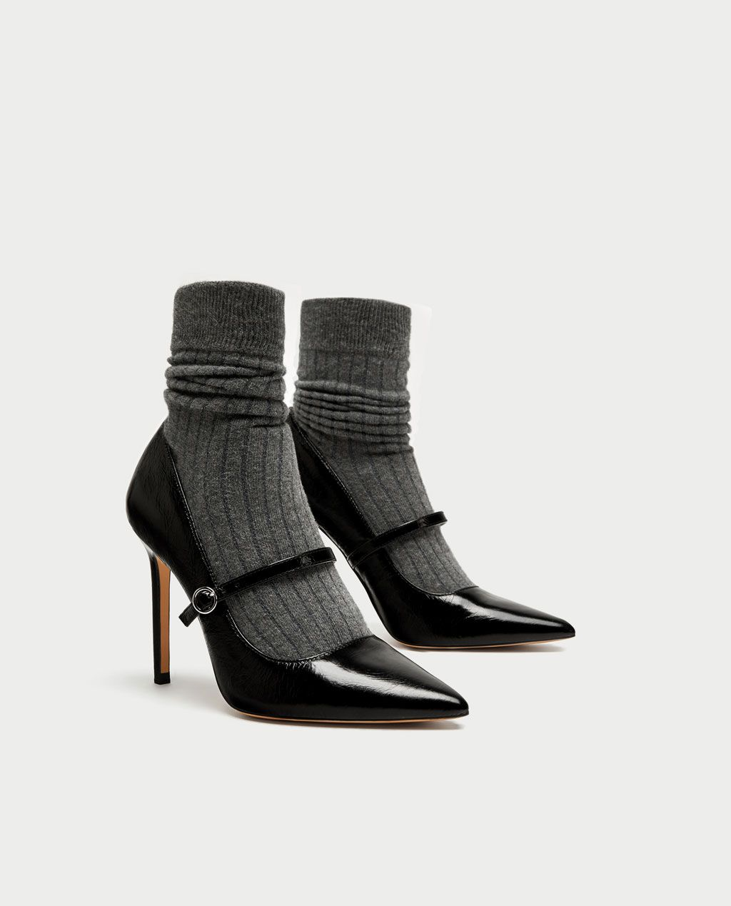 3f112b0f7ce SOCK-STYLE HIGH HEEL COURT SHOES-View all-SHOES-WOMAN