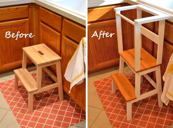 ikea step stool hack for toddlers toddler learning tower would rh pinterest com