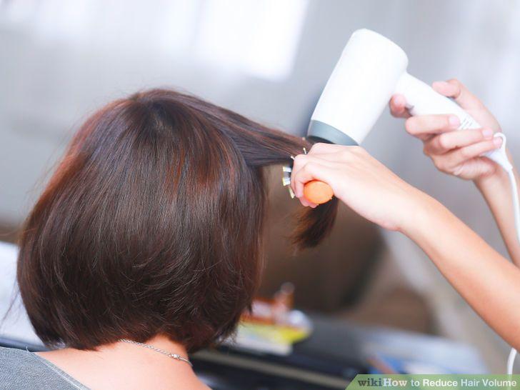 Reduce Hair Volume   Hair hacks Healthy hair tips ...