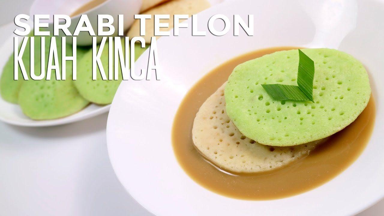 Serabi Teflon Dengan Kuah Kinca Coconut Pancake With Palm Sugar Sauce Makanan Resep Makanan Penutup Makanan Dan Minuman