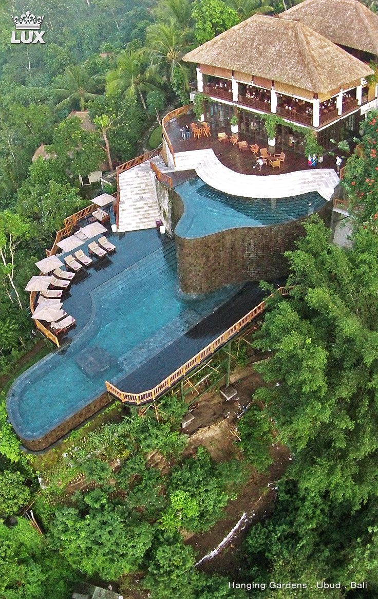 the hanging gardens of bali is a luxurious destination in the