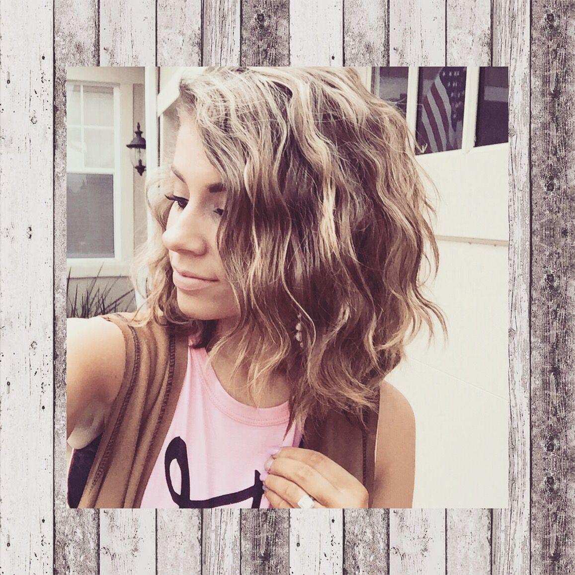 The secret to perfect wavy hair! Bed Head Deep Waver
