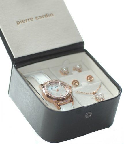 Pierre Cardin Ladies Womens Girls Wrist Watch Necklace Earring Jewellery Gift Set   Your #1 Source for Watches and Accessories  sc 1 st  Pinterest & Pierre Cardin Ladies Womens Girls Wrist Watch Necklace Earring ...