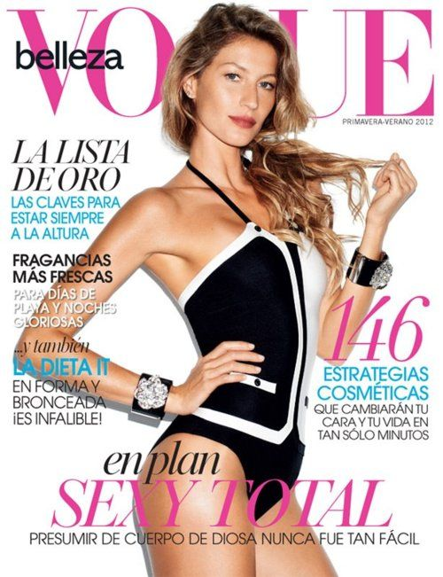 Gisele Bundchen for Vogue Mexico Beauty
