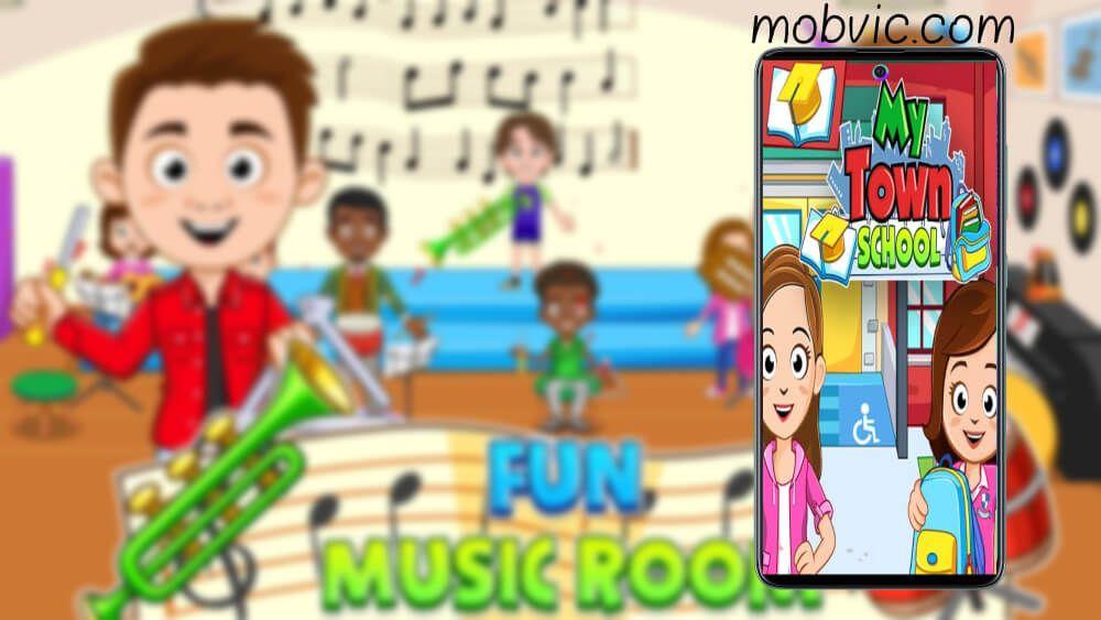 مراجعة وتحميل لعبة ماي تاون 2020 My Town School مدرسة School Fun School Fun