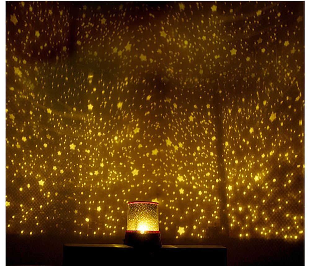 Led galaxy projector night romatic cosmos star starry night light lamp kid baby in night lights ebay