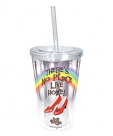 Take a look at this 'No Place Like Home' Tumbler by