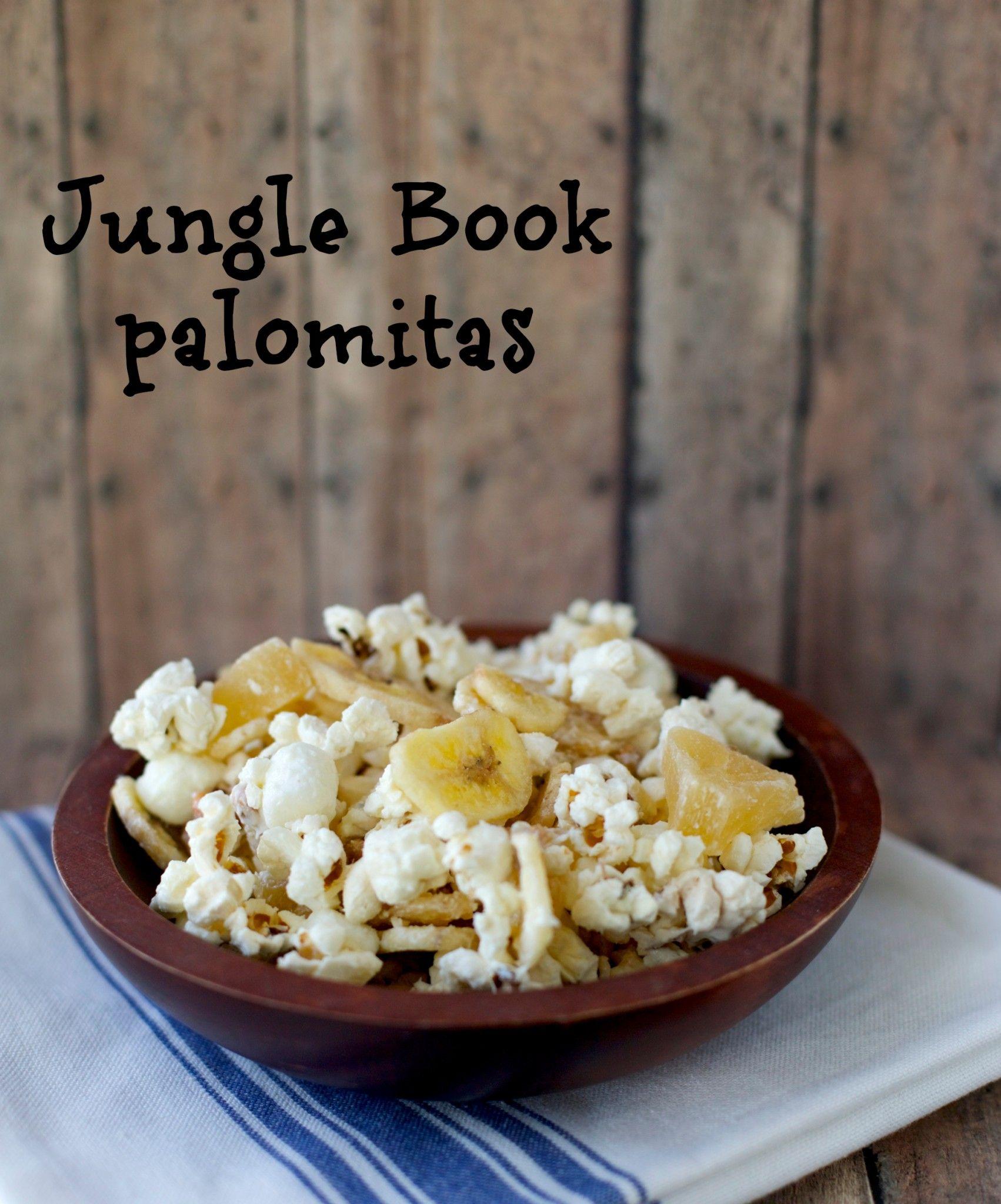 Jungle Book palomitas o cabritas | En mi cocina hoy #LoMasVital ...