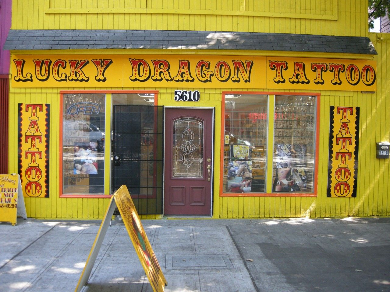 Image Detail For -to Lucky Dragon Tattoo Parlor, One Of