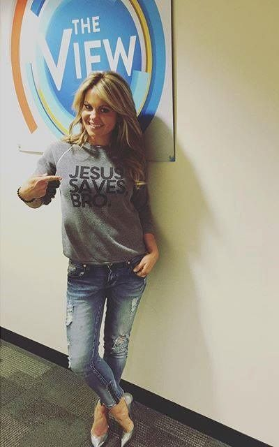 The View Co-Host Candace Cameron Bure caught the attention of many in her audience with the shirt that she wore on Friday.