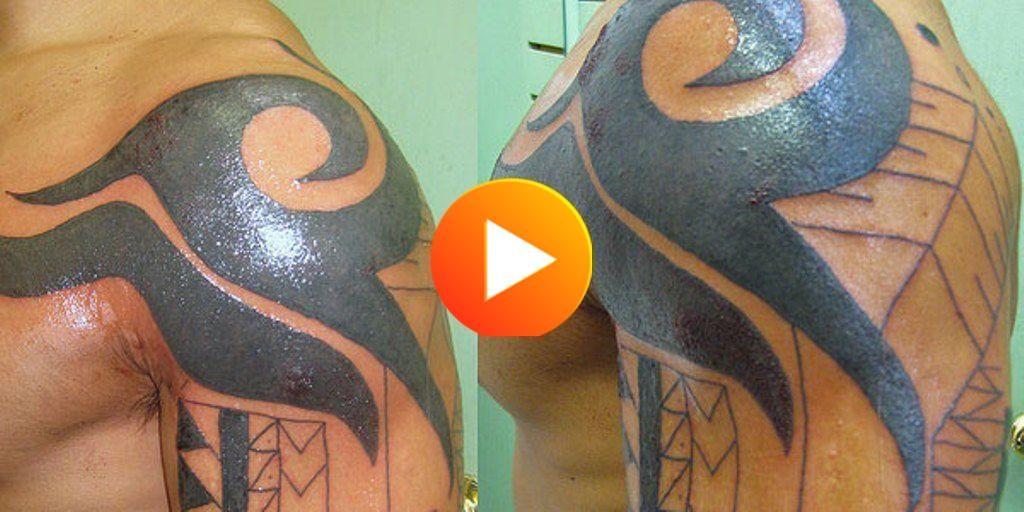 Tribal Shoulder Tatt