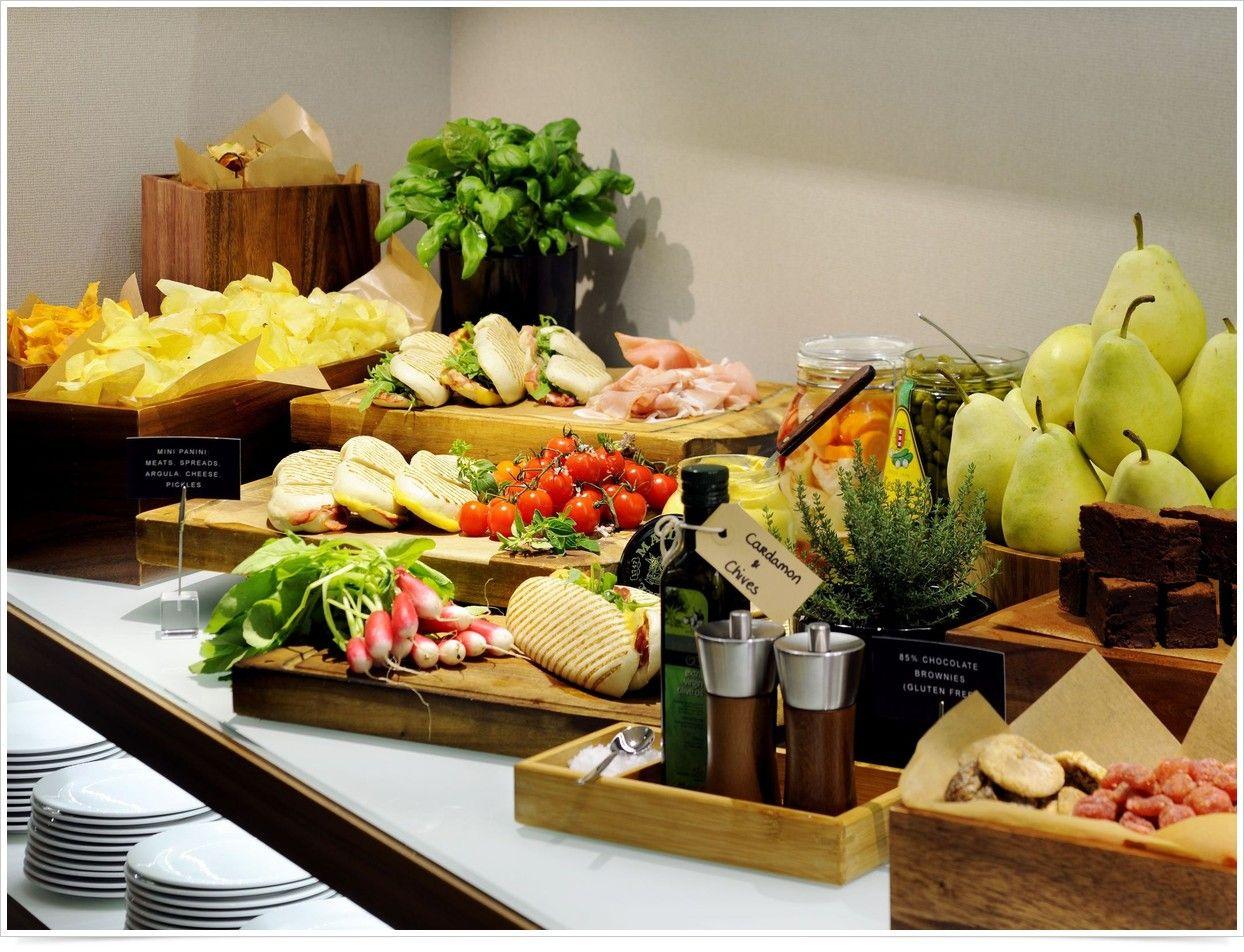 Healthy break Amsterdam Marriott Hotel Food