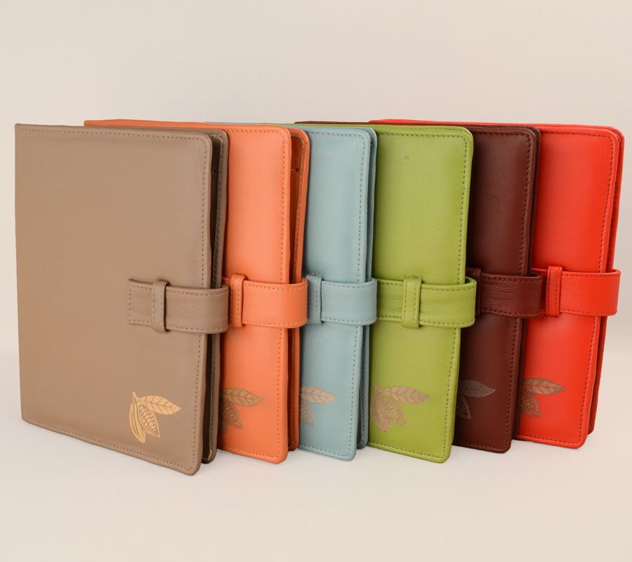 A5 Leather PadFolio / Portfolio / Note Pad Holder. Personalized, 2 Inside  Pockets U0026  Leather Resume Portfolio