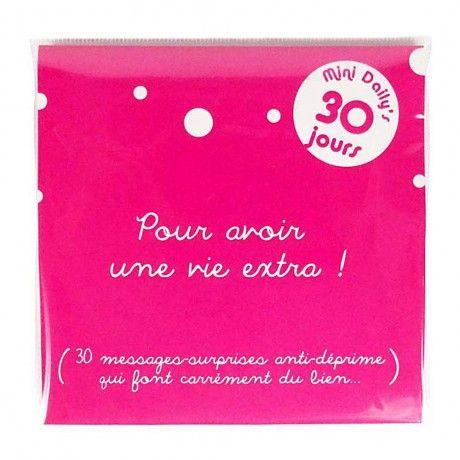 """Mini Daily's """"Pour avoir une vie extra !"""""""