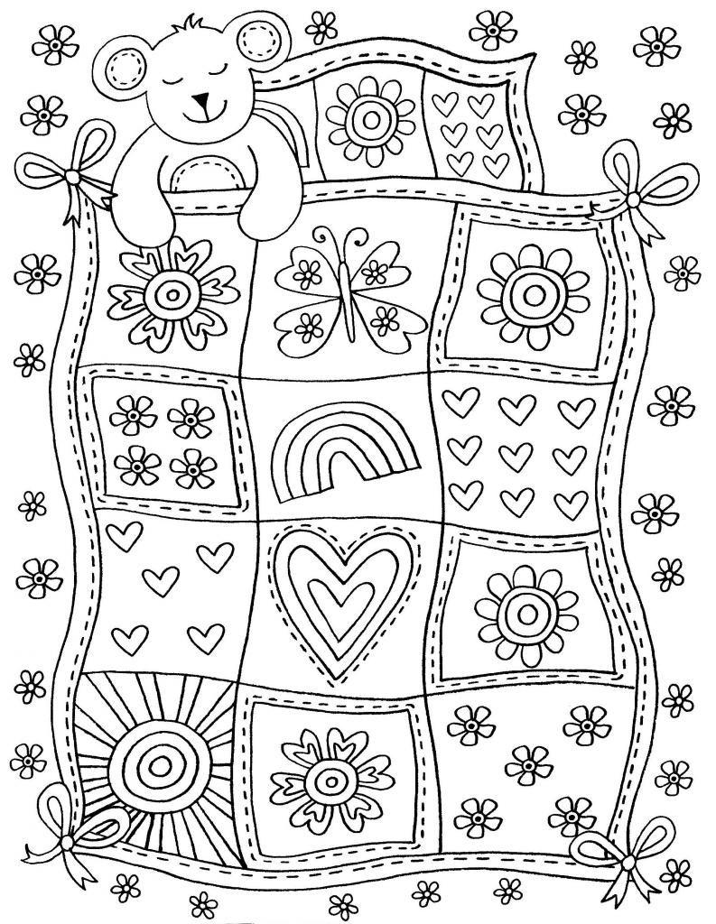 Ayıcık Kış Uykusı Okul öncesi Sanat Preschool Art Coloring