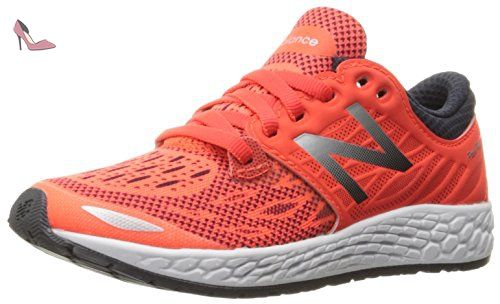 W770gp5 - Chaussures de Running Compétition - Femme - Gris (Grey/Orange) - 35 EU (3 UK)New Balance