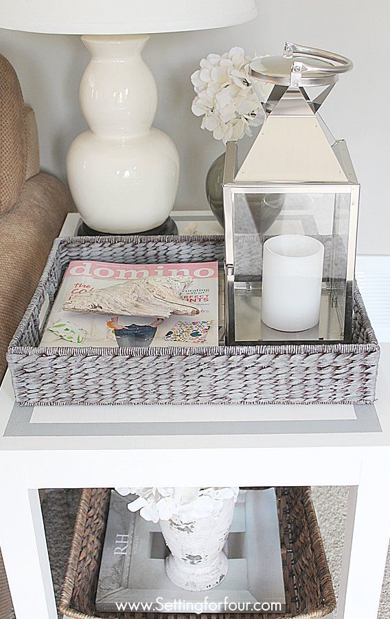Get on trend and paint a tray