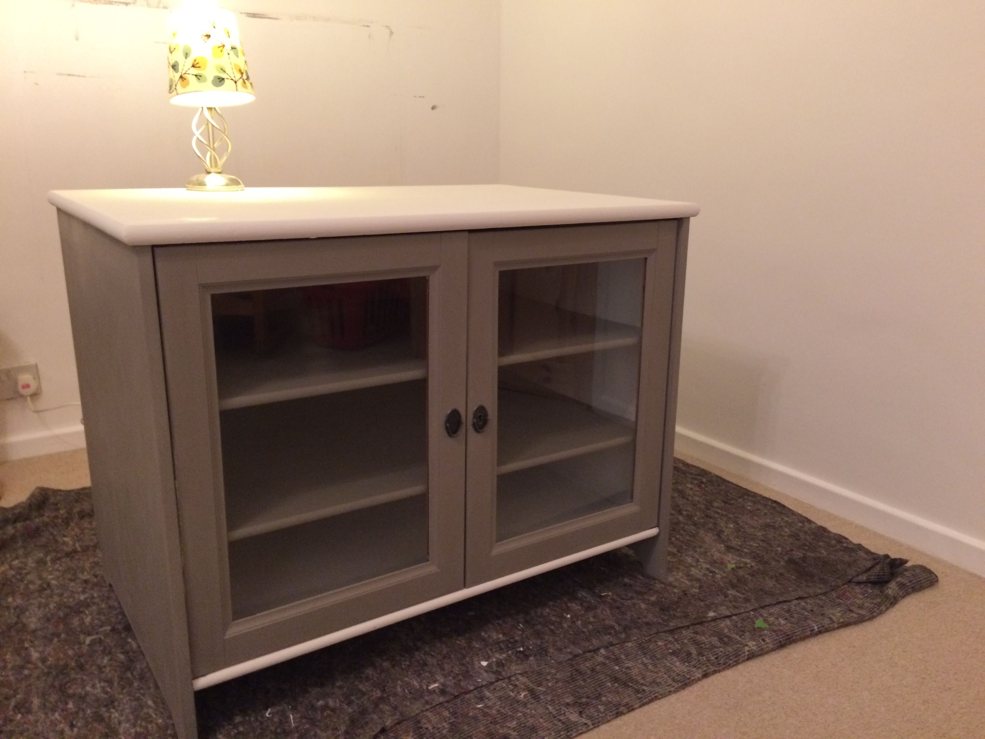 Shabby chic to cabinet in Annie Sloan chalk paint French ...