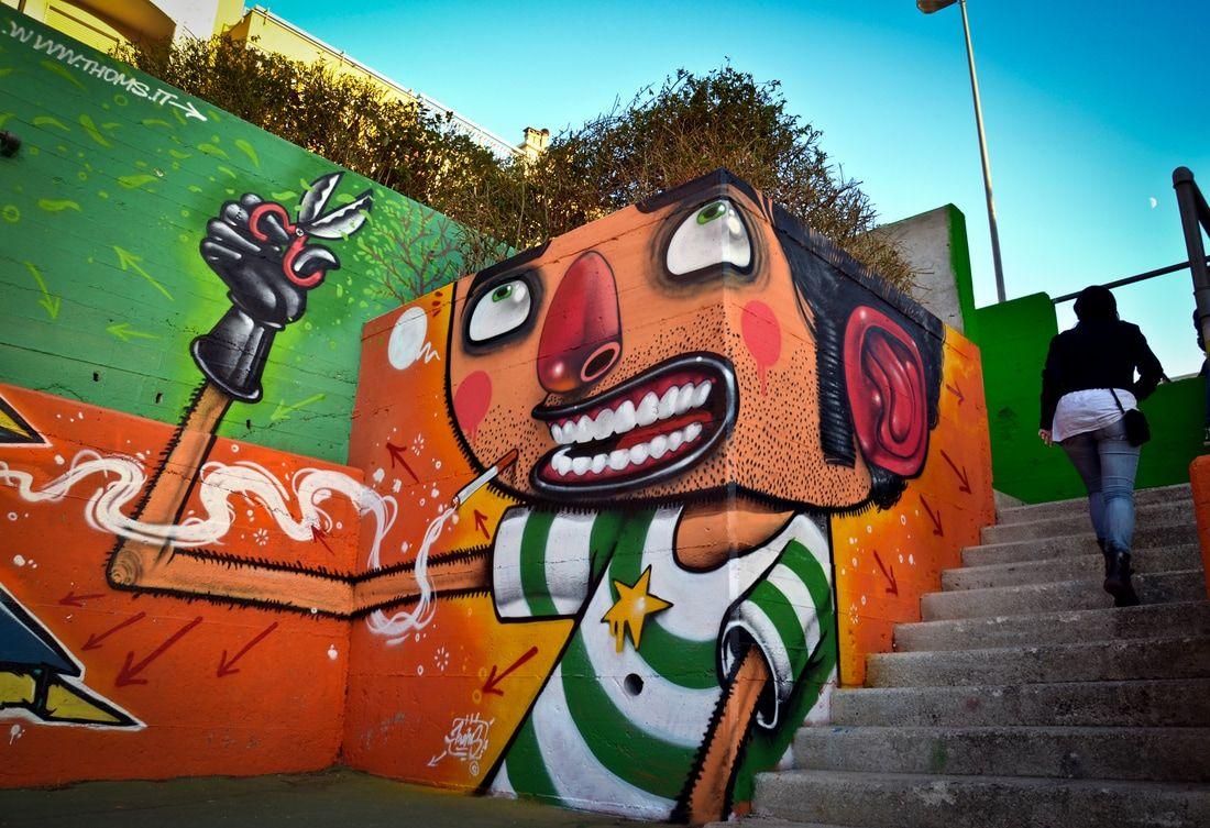Прикольные картинки граффити