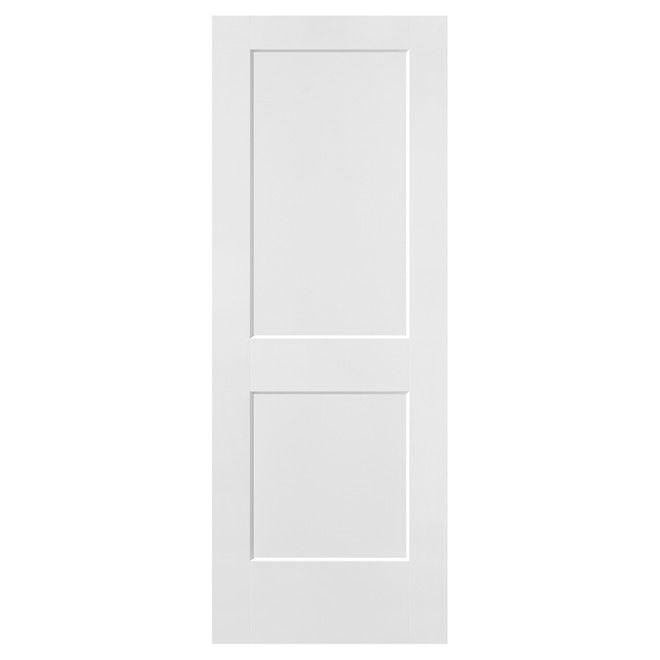 Logan 2 Moulded-Panel Door - Primed - 30\