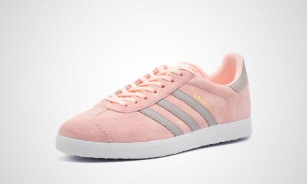 adidas Gazelle W (pink grau) BA7656 | 43einhalb sneaker