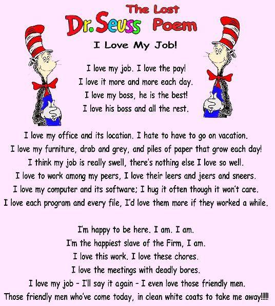 Dr Seuss Short Poems 2