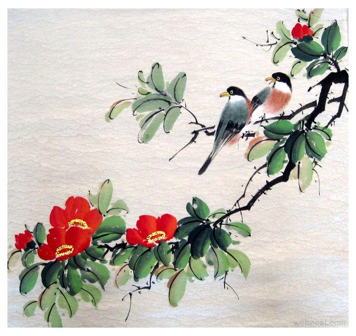 vogel asiatischen riou