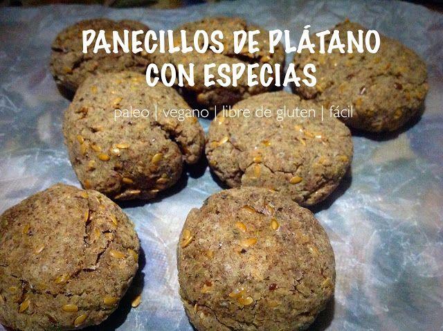 Tabanco Arte/Sano: Panecillos de plátano con especias