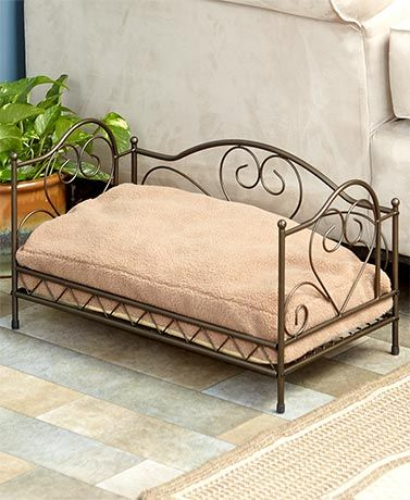 Scrolled Metal Pet Beds Pet Bed Furniture Metal Dog Bed Dog Bed