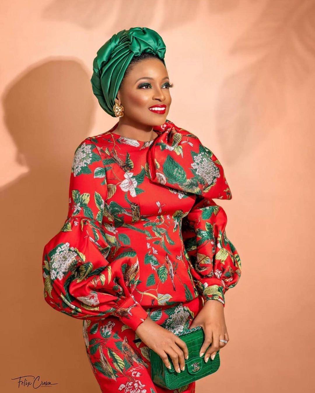 T N S Top Nigerian Socialites On Instagram T N S Beautiful Emeliajane 075 Celebra African Clothing African Maxi Dresses African Clothing Styles