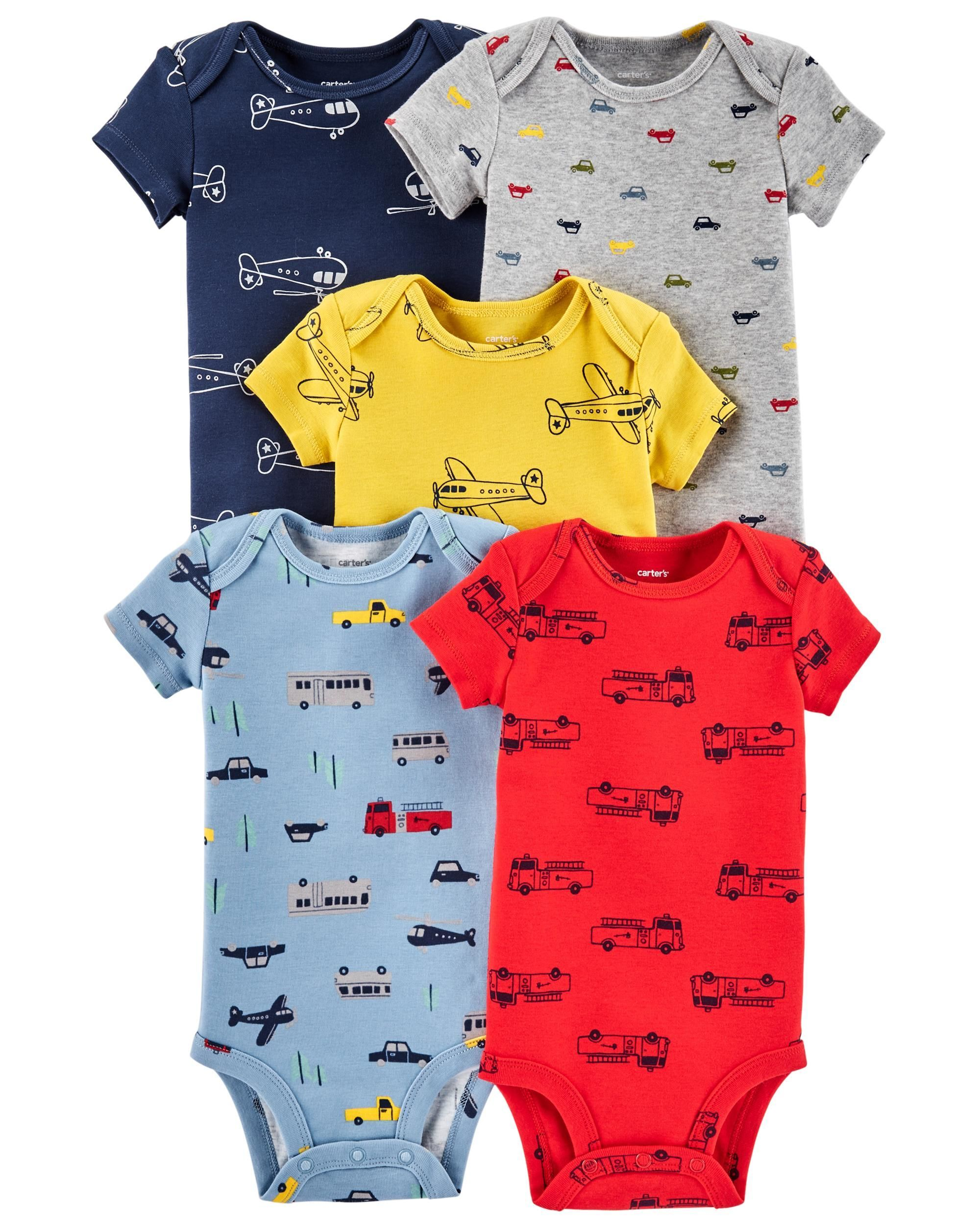6a3f24ec5 5-Pack Vehicle Original Bodysuits | for the little one | Carters ...