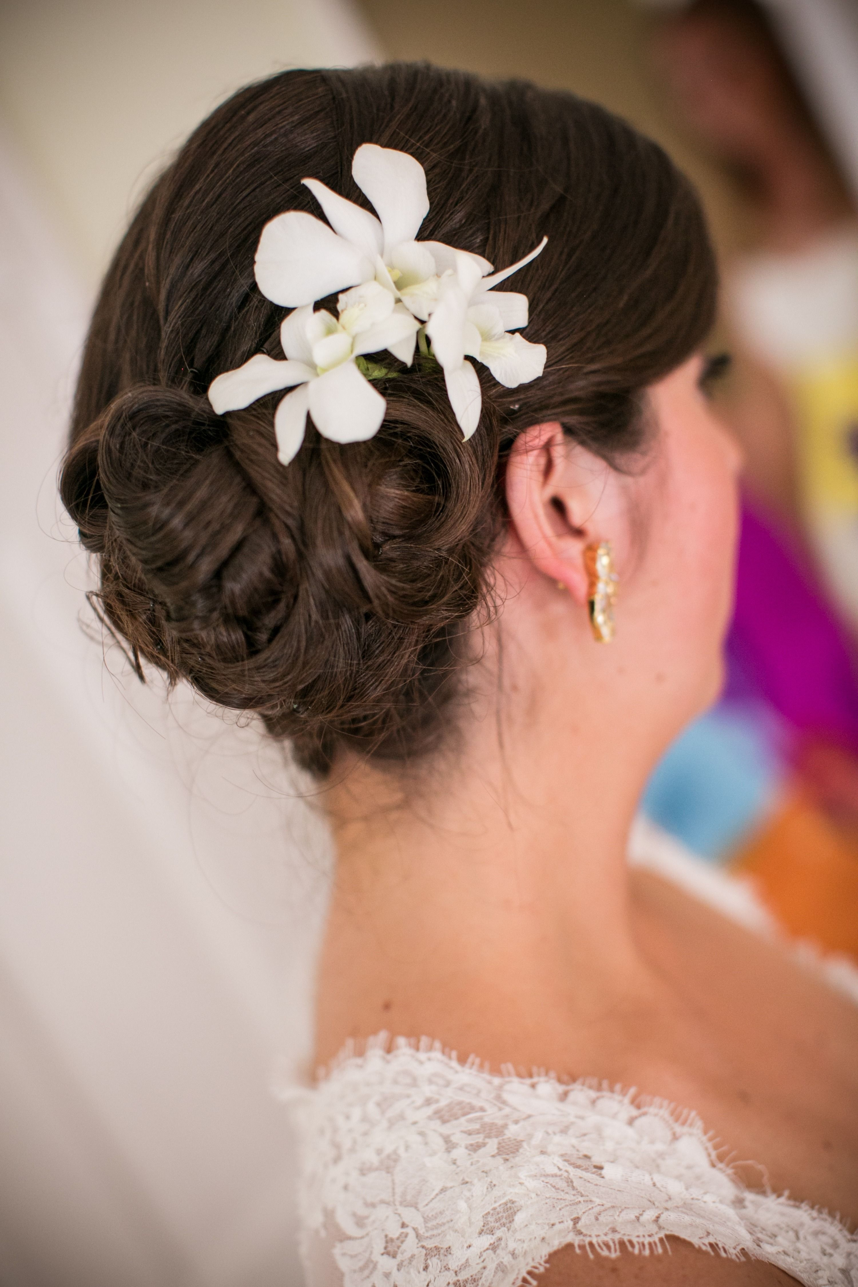 whimsical seaside wedding   hair styling and flower crowns
