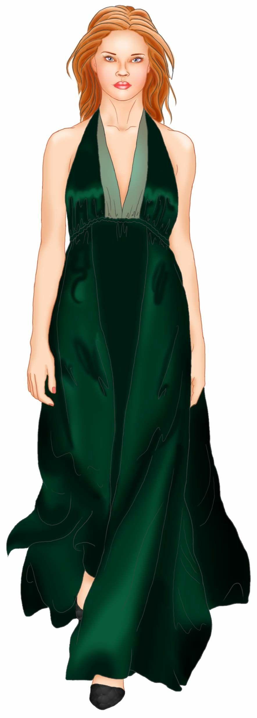 Free online maxi dress pattern