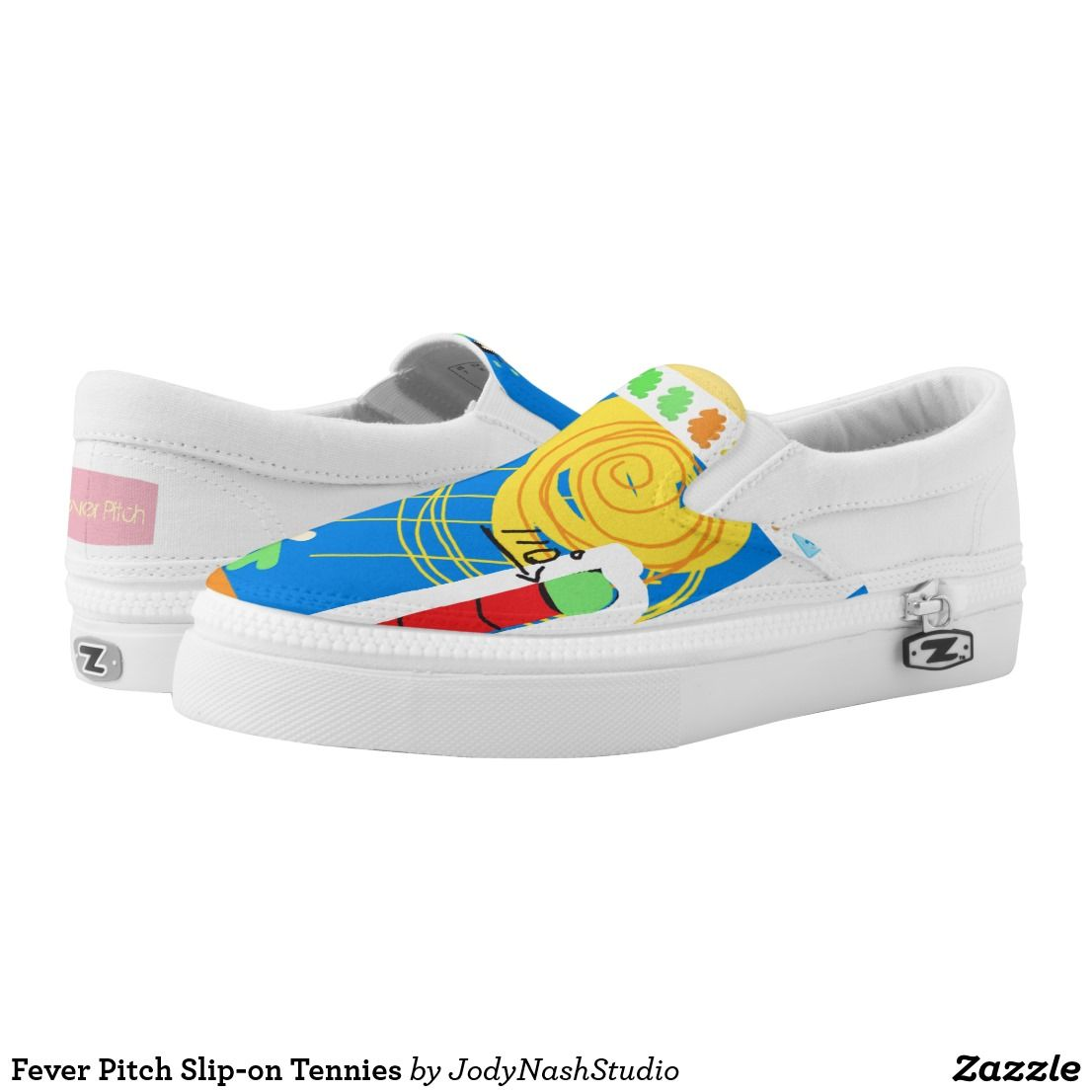 Fever Pitch Slip-on Tennies