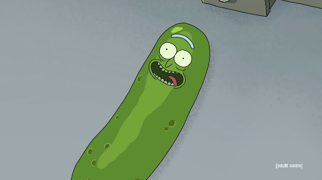 Pickle Rick Rick And Morty Svg Dxf Eps Pdf Png Rick And Morty Sewing Embroidery Designs Diy Embroidery Shirt