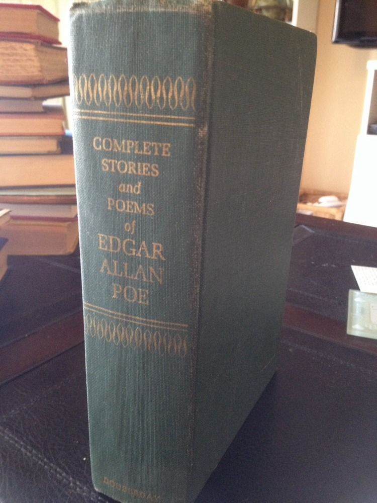 1966 Complete Short Stories Of Edgar Allan Poe The Raven Dark Horror Vintage