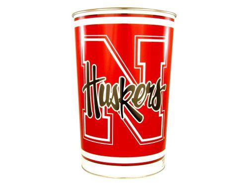 Trashcan Nebraska Cornhuskers Cornhuskers Nebraska