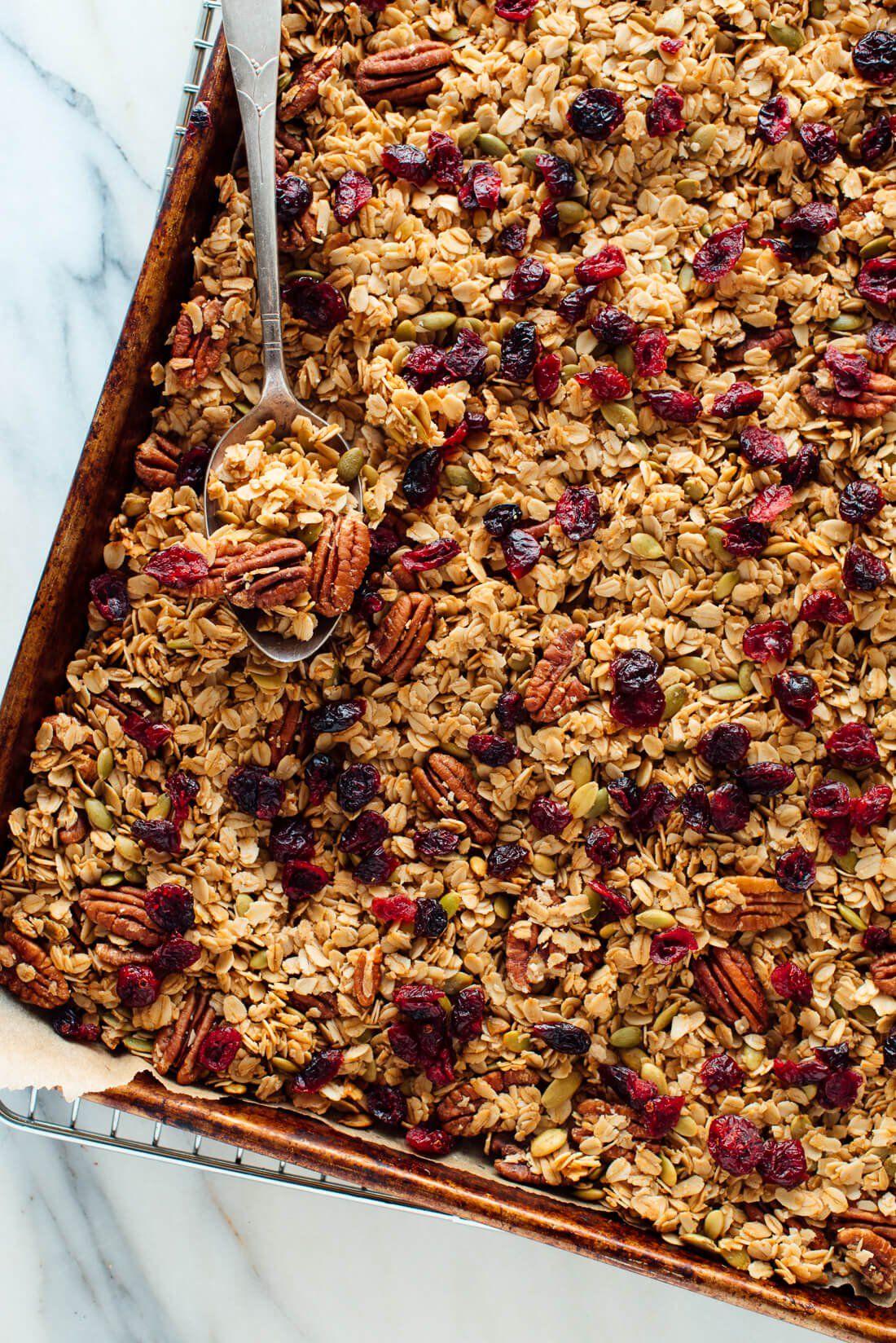 Healthy Granola Recipe Granola Healthy Recipes