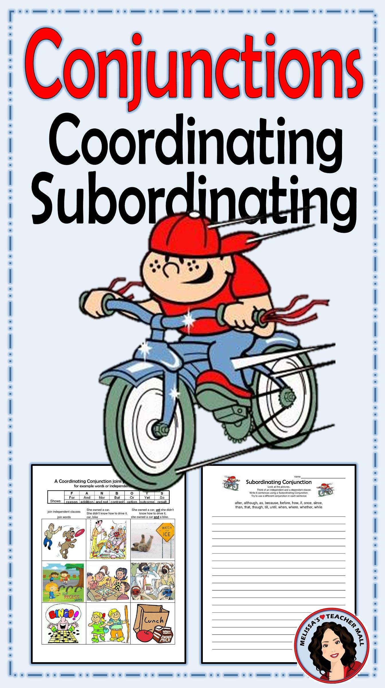 Conjunctions Coordinating And Subordinating